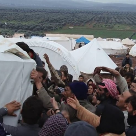 Syria refugee winter<span></span>