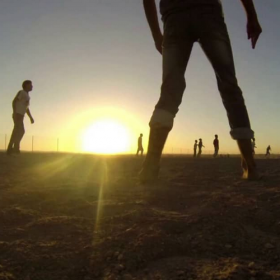 Zaatari refugee camp, story of Abdallah, GoPro trilogy II.<span></span>